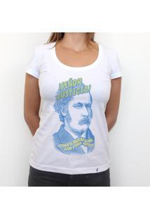 Señor Justicia - Camiseta Clássica Feminina