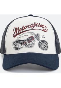 Boné Trucker Moto Ii