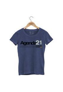 Camiseta Forseti Estonada Agenda 21 Azul
