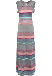 Vestido Longo Aurora - Rosa