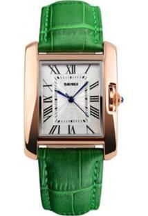 Relógio Skmei Analógico 1085 Verde