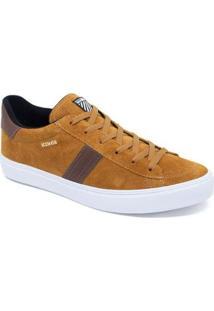 Tenis Kings Sneakers K1002 Masculino - Masculino-Caramelo