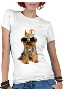 Camiseta Criativa Urbana Pet Lover Yorkshire - Feminino