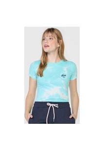 Camiseta Aeropostale Tie Dye Azul