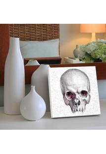 Quadro - Pixel Skull