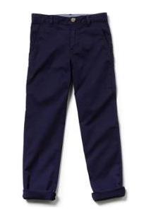 Calça Infantil Lacoste Masculina - Masculino-Azul Navy