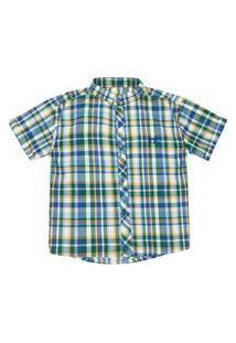 Camisa Look Jeans Clássica Xadrez