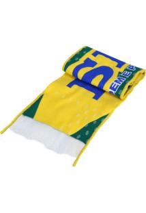 Cachecol Do Brasil M4 Cachecol Mania - Adulto - Verde
