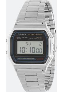 Relógio Unissex Casio Vintage A158Wa 1Df Digital