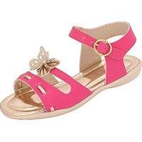 11527a851 Sandália Infantil Plis Calçados Alegria Feminina - Feminino-Pink
