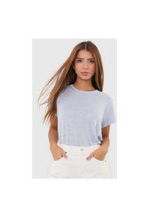 Camiseta Linho Polo Ralph Lauren Lisa Azul
