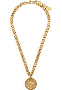 Versace Colar Medusa Head - Dourado