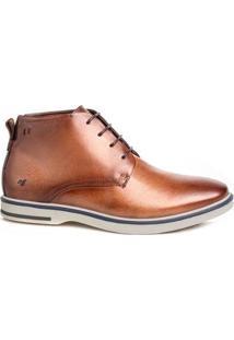Sapato Social Masculino Derby Rafarillo Couro Cano Curto - Masculino