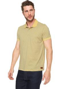 612682c92c Camisa Pólo Amarela Com Rasgos masculina