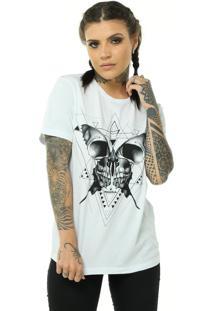 Camiseta Bossa Brasil Butterfly Branco - Kanui