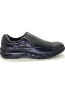 Sapato Social Frampasso Elástico Masculino - Masculino-Preto