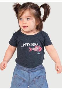 Body Infantil Bebê Com Estampa - Tal Pai Tal Filho Hering Kids