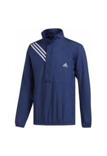 Jaqueta Impermeável Adidas Anoraque Run It 3-Stripes Masculina
