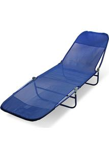 Cadeira Espreguiçadeira Textilene Adulto Estampas Sortidas Belfix - Tricae