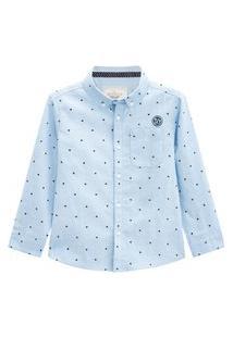 Camisa Infantil Menino Milon Azul