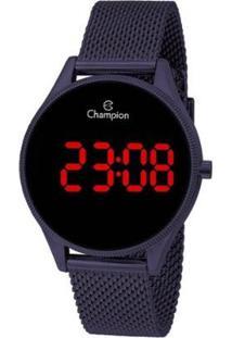 Relógio Champion Digital Ch40133L Feminino - Feminino-Roxo
