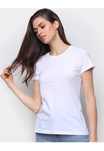 Camiseta Malwee Baby Look Antivirais Feminina - Feminino