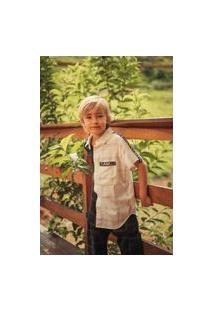Camisa Biocolor I Am Xadrez Preto