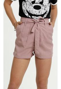 Short Feminino Listrado Clochard Razon