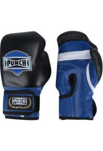 Luvas De Boxe Punch Amador - 10 Oz - Adulto - Preto