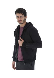 Jaqueta De Moletom Com Capuz Oxer Reflex - Masculina - Preto