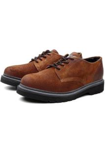 Sapato Social Black Boots Viena Camurça Trabalho Masculino - Masculino