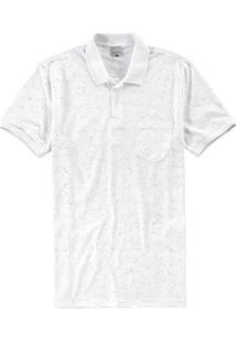 Camisa Branca Polo Slim Botonê
