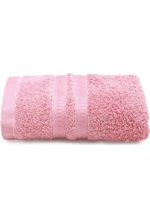 Toalha De Rosto Artex Comfort Sion Rosa