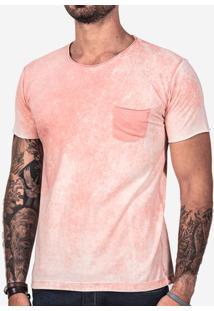 Camiseta Rosa Marmorizada 102114