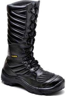 Bota Top Franca Shoes Segurança Masculino - Masculino-Preto