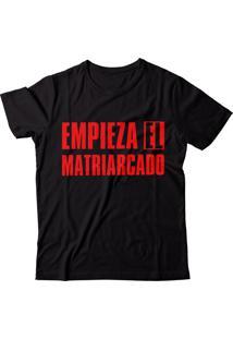 Camiseta Blitzart Empieza El Matriarcado - Preta