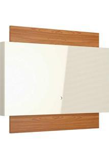 Painel Para Tv 58 Polegadas Lautrec Off White E Freijó