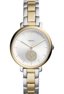 Relógio Analógico Fossil Feminino - Es4439/1Kn Prateado