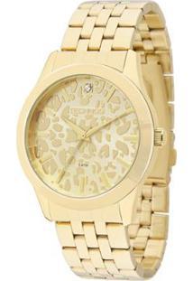 064fc4642d9 Relógio Technos Trend Feminino Analógico - 2035Lzf 4X 2035Lzf 4X - Feminino- Dourado