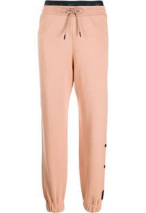 Reebok X Victoria Beckham Calça Esportiva Com Estampa De Logo - Neutro