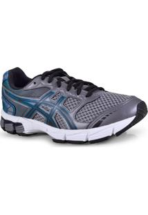 007d8a87c5 Tenis Masc Asics 1Z21A001.021 Gel Connection Grafite Preto Verde