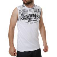 Camiseta Regata Masculina Branco f11359aa94d