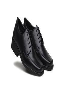 Sapato Social Masculino Bertelli Infantil Preto - 90123