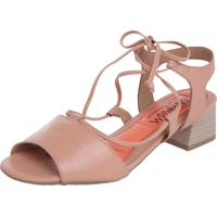 5235b74cc Sandália Ramarim Rosa feminina | Shoes4you