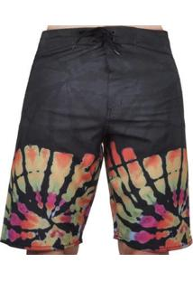 Bermuda Hurley Tie Dye Masculina - Masculino