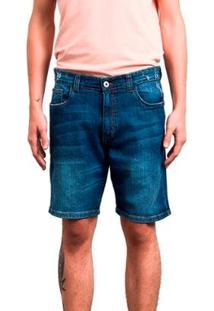 Bermuda Salt 35G Jeans Mar Masculina - Masculino-Azul