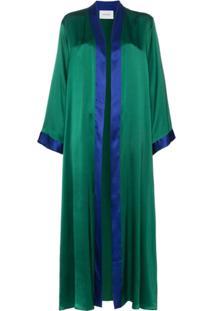 We Are Leone Kimono 'Aiza' De Seda - Green