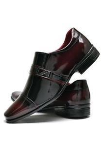 Sapato Social Masculino Com E Sem Verniz Db Now Dubuy 820Od Vinho
