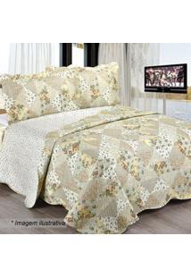 3c17846cfd Conjunto De Colcha Patchwork Jessia King Size- Amarelo Ccamesa