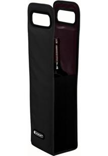 Cooler Sleeve Le Creuset Com Alça Preto 40X10X8Cm - 26299